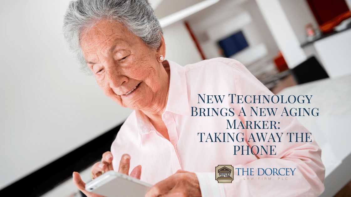 New Technology Brings a New Aging Marker: Taking Away the Phone