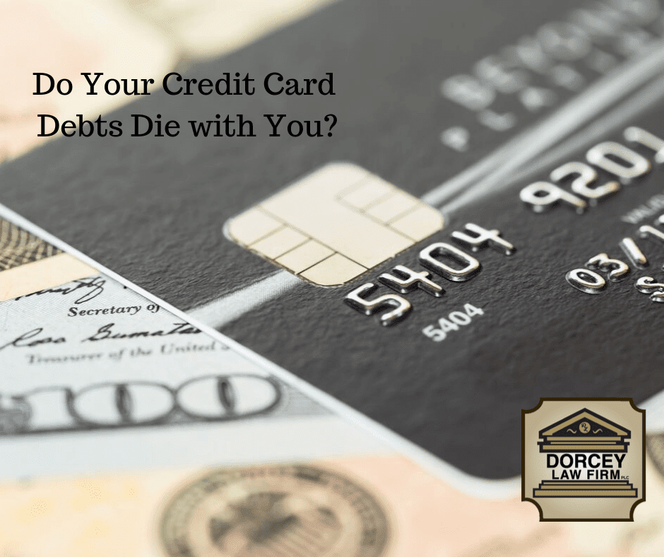 Do Your Credit Card Debts Die With You? text