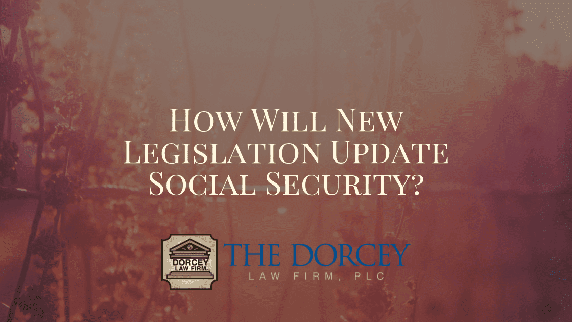 How Will New Legislation Update Social Security? text